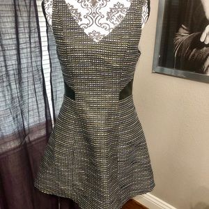 BCBG tweed dress